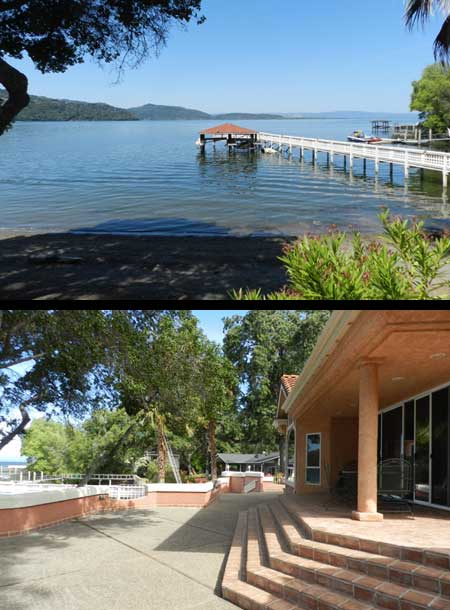 Kelseyville Lakefront Home, Lake County