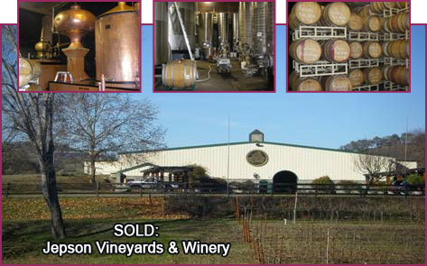Sold: Jepson Vineyards and Winery